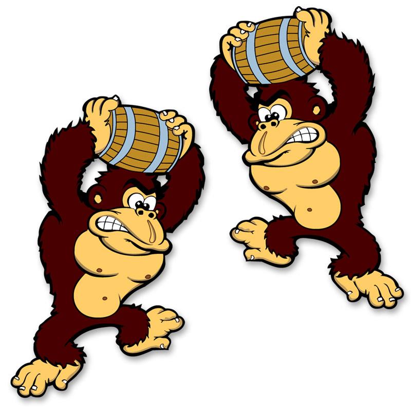 800x800 Donkey Kong Stickers