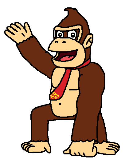 420x530 Donkey Kong By Mighty355
