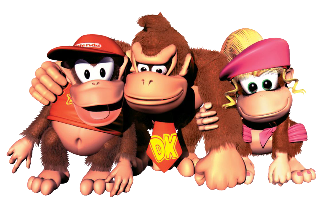 1117x709 Dkc 2 Diddy's Kong Quest Game Art Gallery
