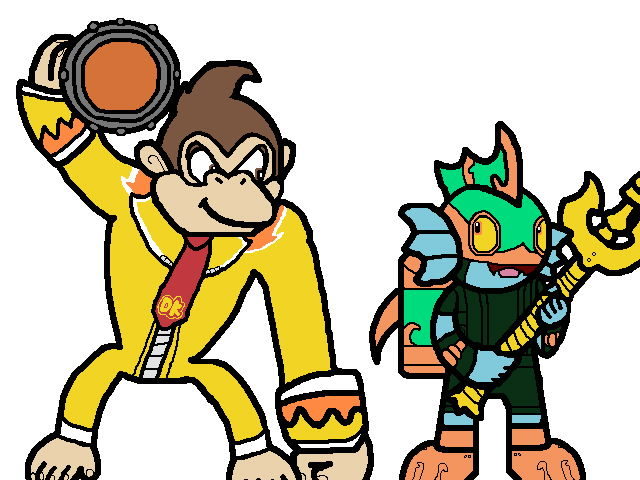 640x480 Deep Dive Gill Grunt And Turbo Charge Donkey Kong By