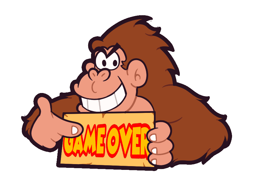 881x646 Donkey Kong Game Over By Quickestmario