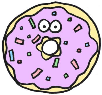 350x325 Donut Clipart By Perfectlyimperfectart Teachers Pay Teachers