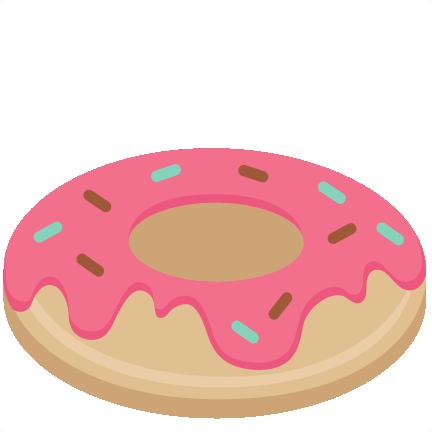 432x432 Donut Svg Scrapbook Cut File Cute Clipart Files For Silhouette