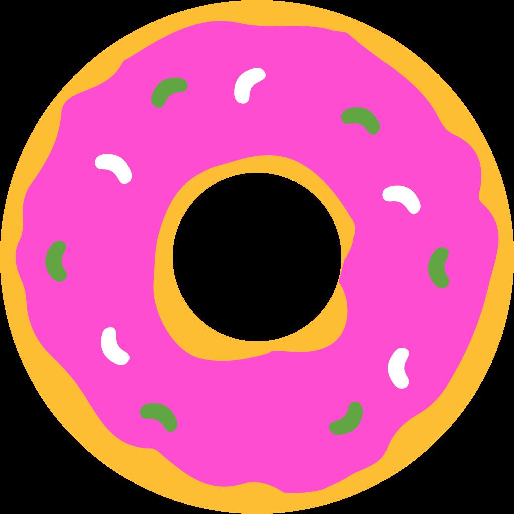 1024x1024 Filesimpsons Donut.svg