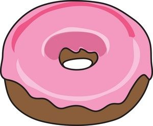 300x248 Donut Clip Art Pocket Letters Doughnut, Clip Art