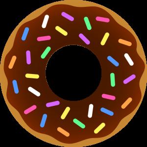 300x300 Clip Art Donuts Free