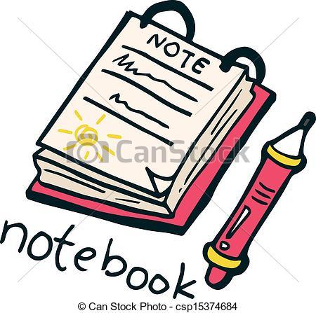 450x447 Notebook Doodle Vector