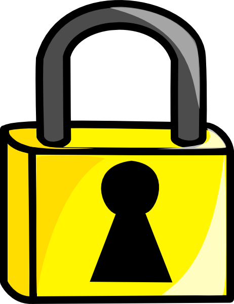 462x599 Lock Clip Art Clipartlook