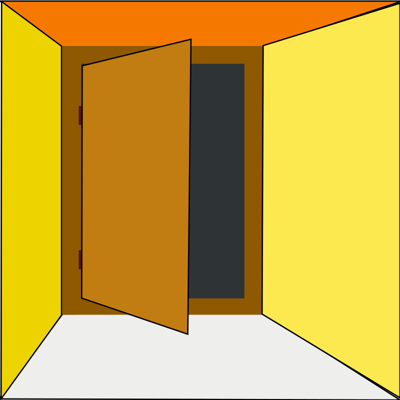 800x800 Appealing Open Door Clipart And Doors Clipart And Open Door Clip