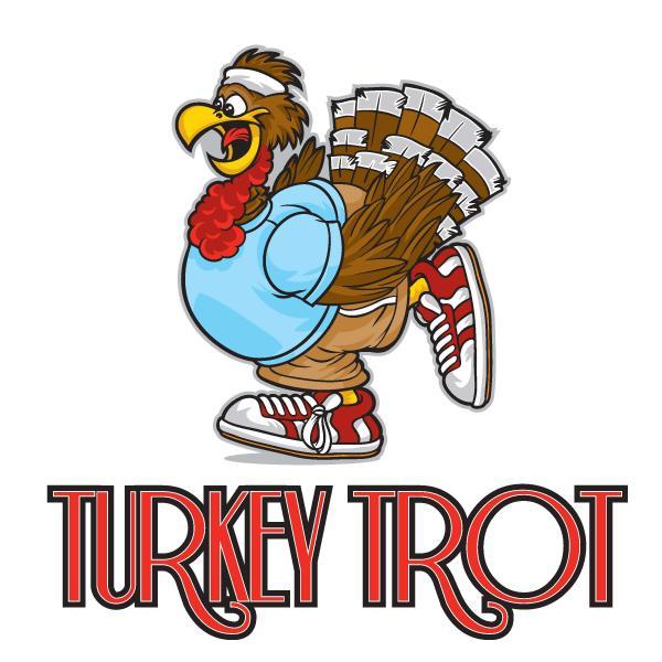 600x600 Turkey Trot Clipart