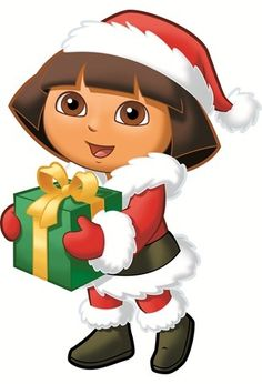 236x346 Dora The Explorer Christmas Clipart