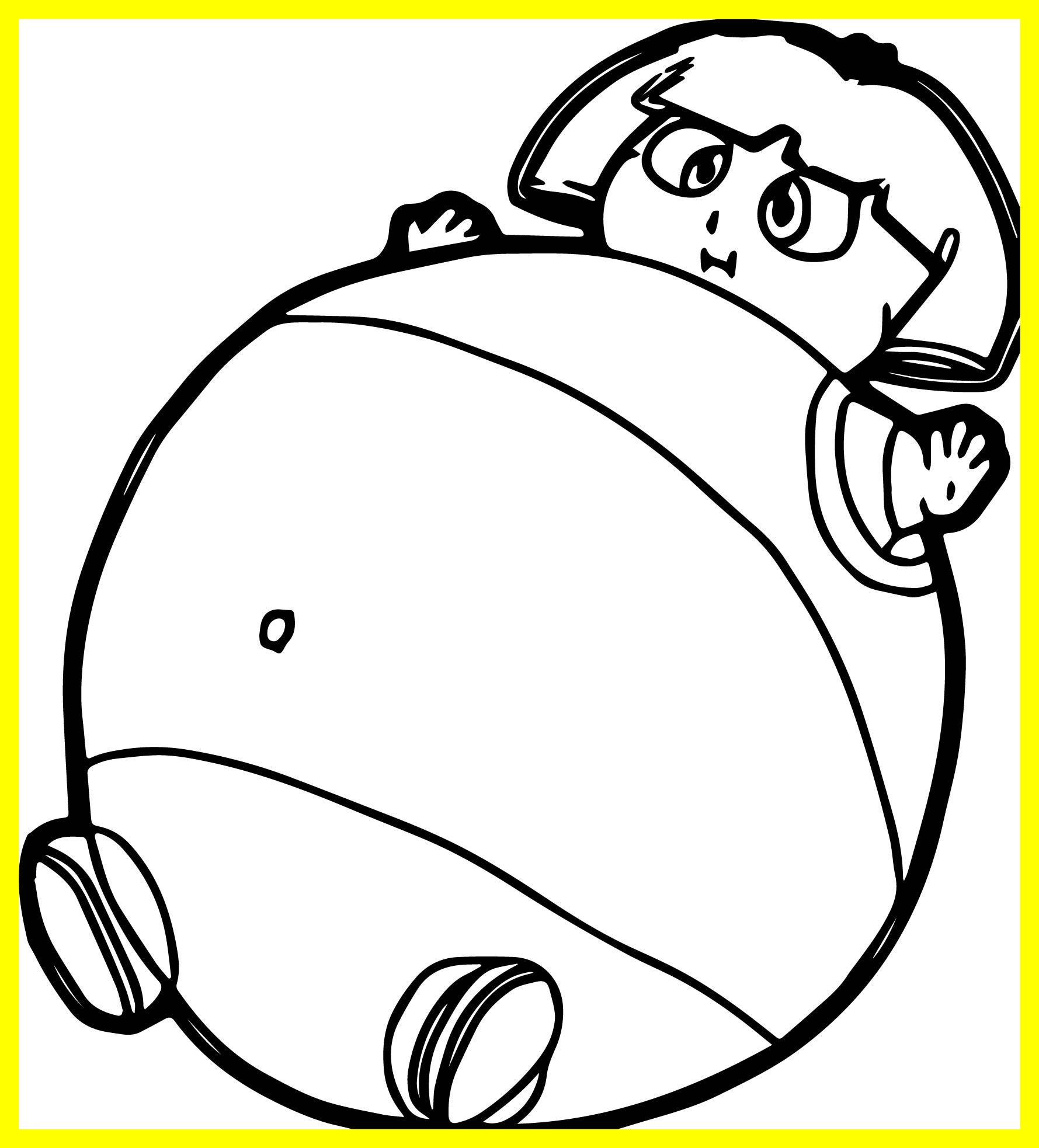 1779x1966 Best Dora The Balloon Explorer Fat Coloring Page Wecoloringpage