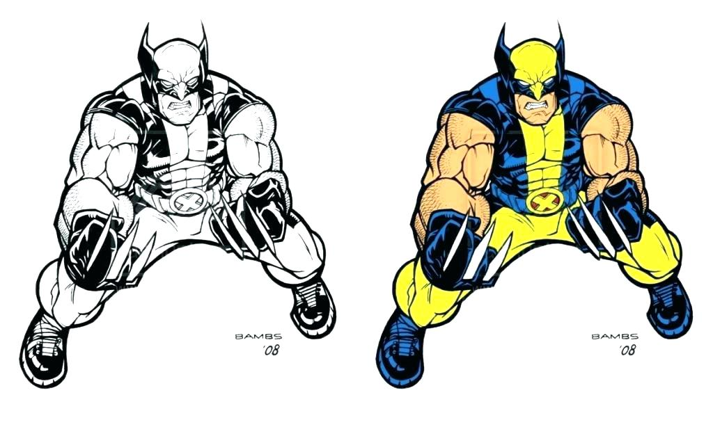 1024x614 Coloring Pages Flowers For Adults Wolverine Animal Page Kids X Men