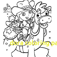 230x230 Dora Coloring Pages With Dora Coloring Lots Dora Coloring Pages