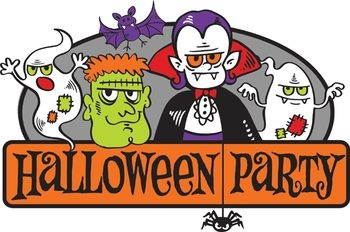 350x232 Collection Of Halloween Potluck Clipart High Quality, Free