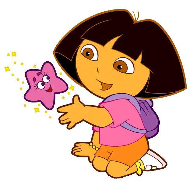 634x600 Characters In Dora Cartoon Dora The Explorer Clip Art Cartoon Clip