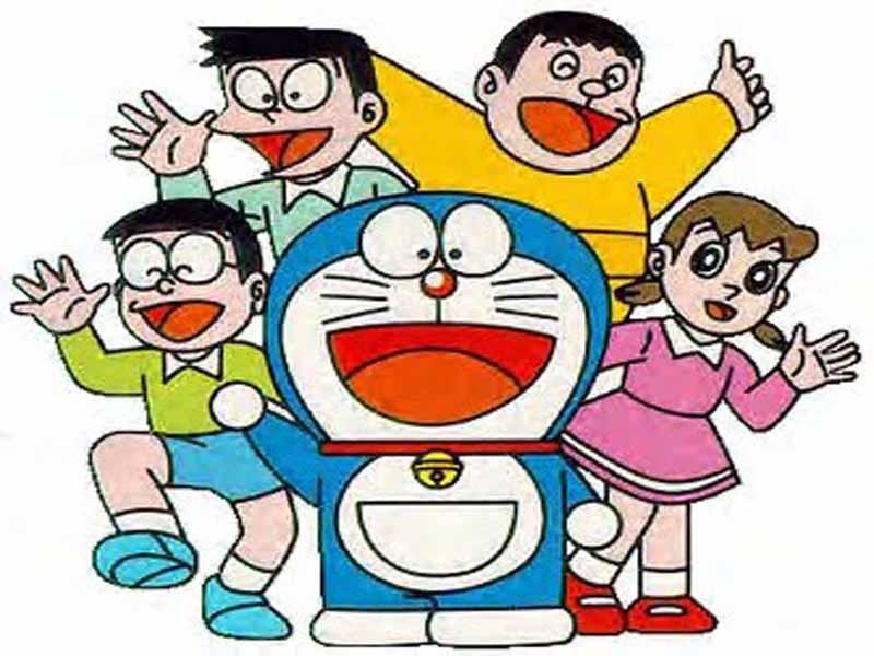 800x600 Top Cartoon Wallpapers Doraemon Characters Pictures
