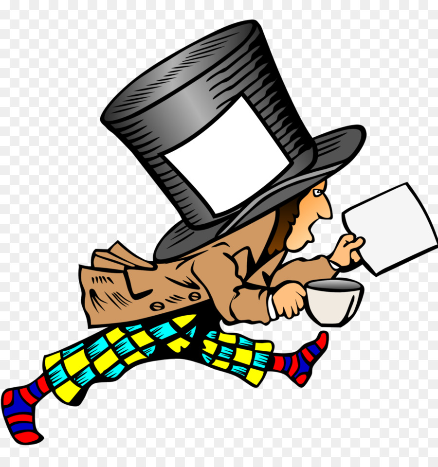 900x960 The Mad Hatter March Hare Clip Art