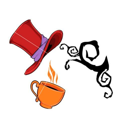 466x481 Awesome Mad Hatter Clip Art