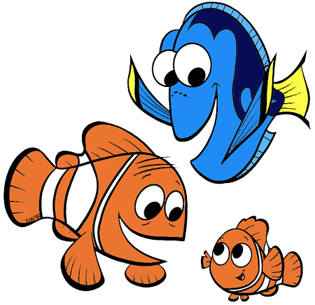 450x435 Pictures Marlin Dory And Nemo,