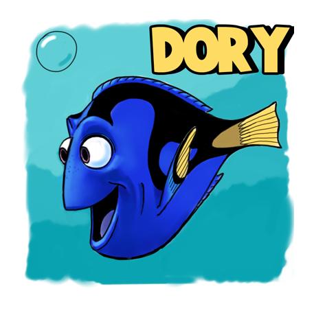 457x459 Nice Finding Nemo Cartoon 7