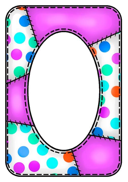 505x715 Polka Dot Border Clip Art