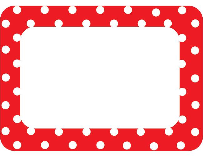 648x501 Red Polka Dot Border Clip Art Clipart