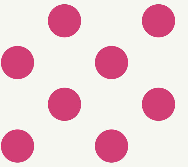 650x578 Pink And White Polka Dot Clip Art
