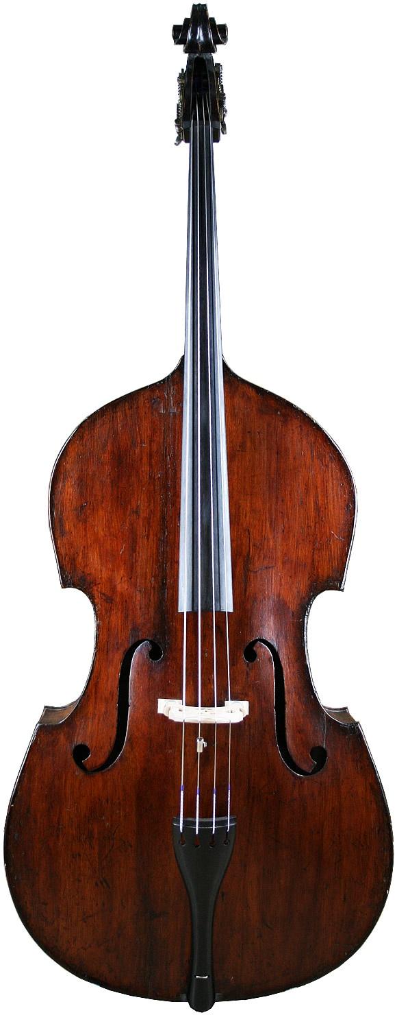 580x1480 Clip Art Of Upright Bass
