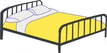 425x211 Rfc Double Bed Clip Art Vector Clip Art Free Vector Free Download