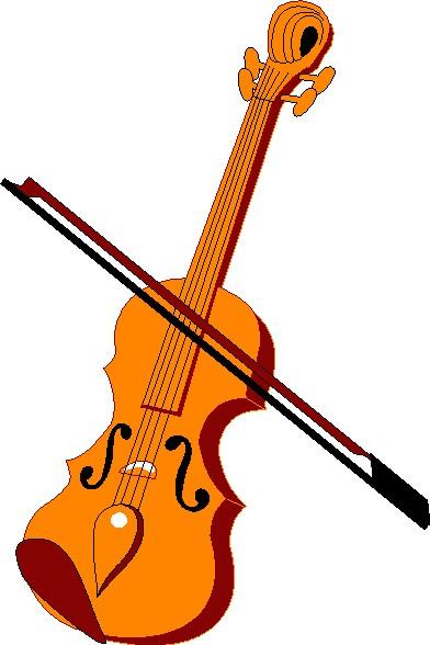 392x588 Violin Clipart