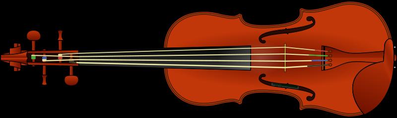 800x239 Violin Clip Art