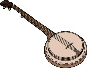 300x236 Banjo Clip Art
