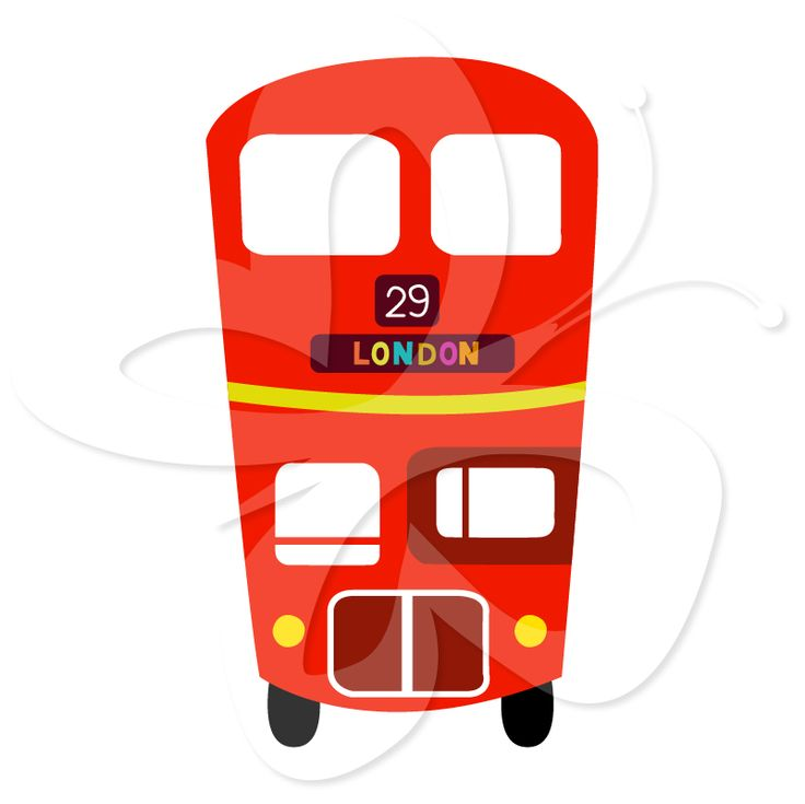 Double Decker Bus Clipart