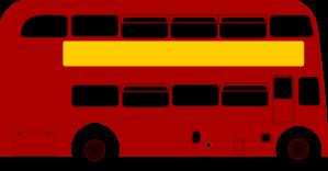 299x156 Double Deck Bus Clip Art