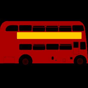 300x300 London Bus Png Clipart