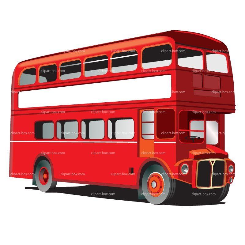 800x800 London Bus Clipart