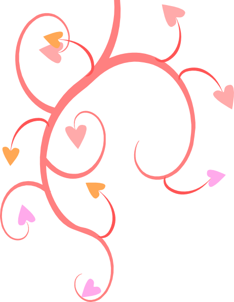 462x595 Double Heart Clip Art Michaeldarkblue Growing Hearts Clip Art
