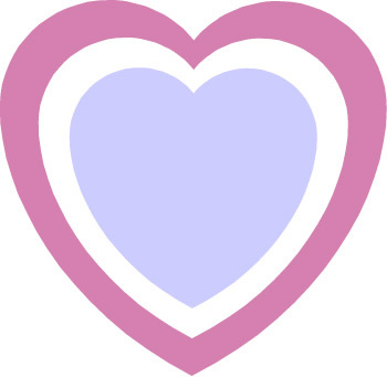 350x341 Double Hearts Clipart