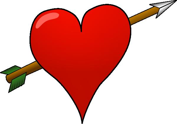 600x420 Heart Arrow Clipart, Explore Pictures