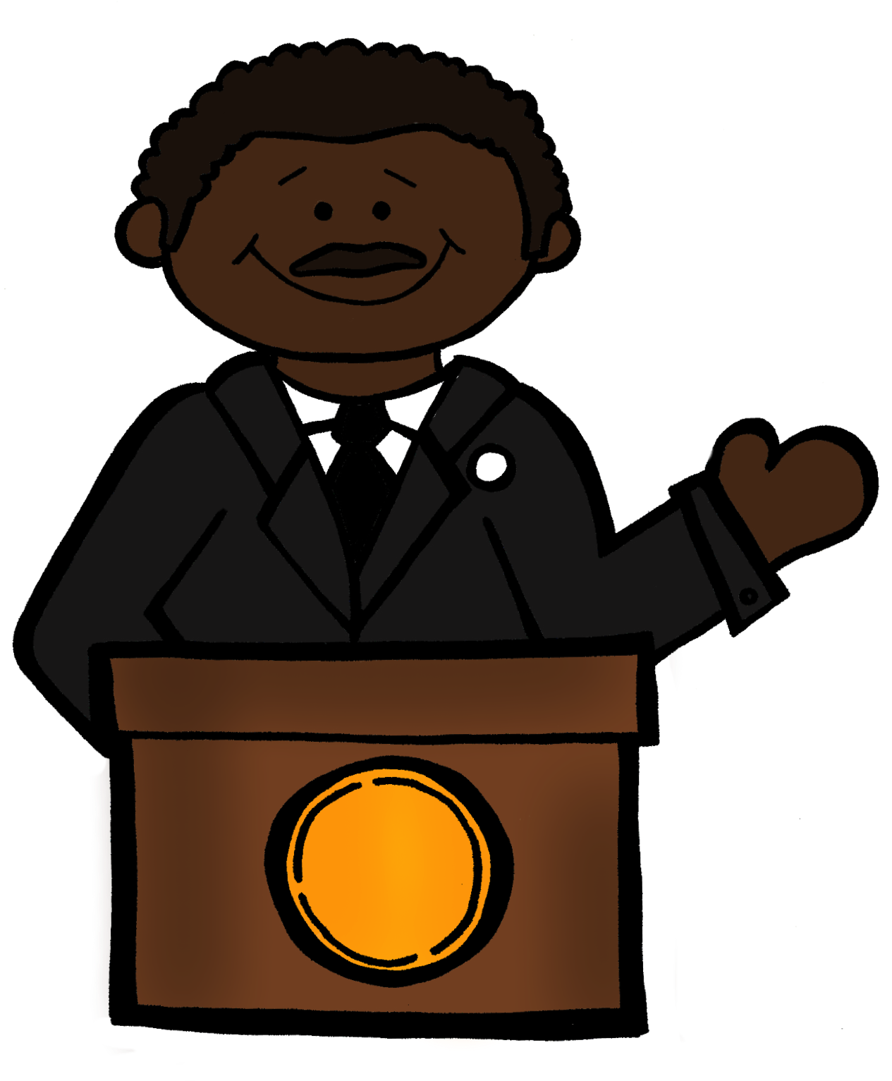 dr martin luther king clipart at getdrawings com free for personal rh getdrawings com mlk clip art images mlk clip art for kids