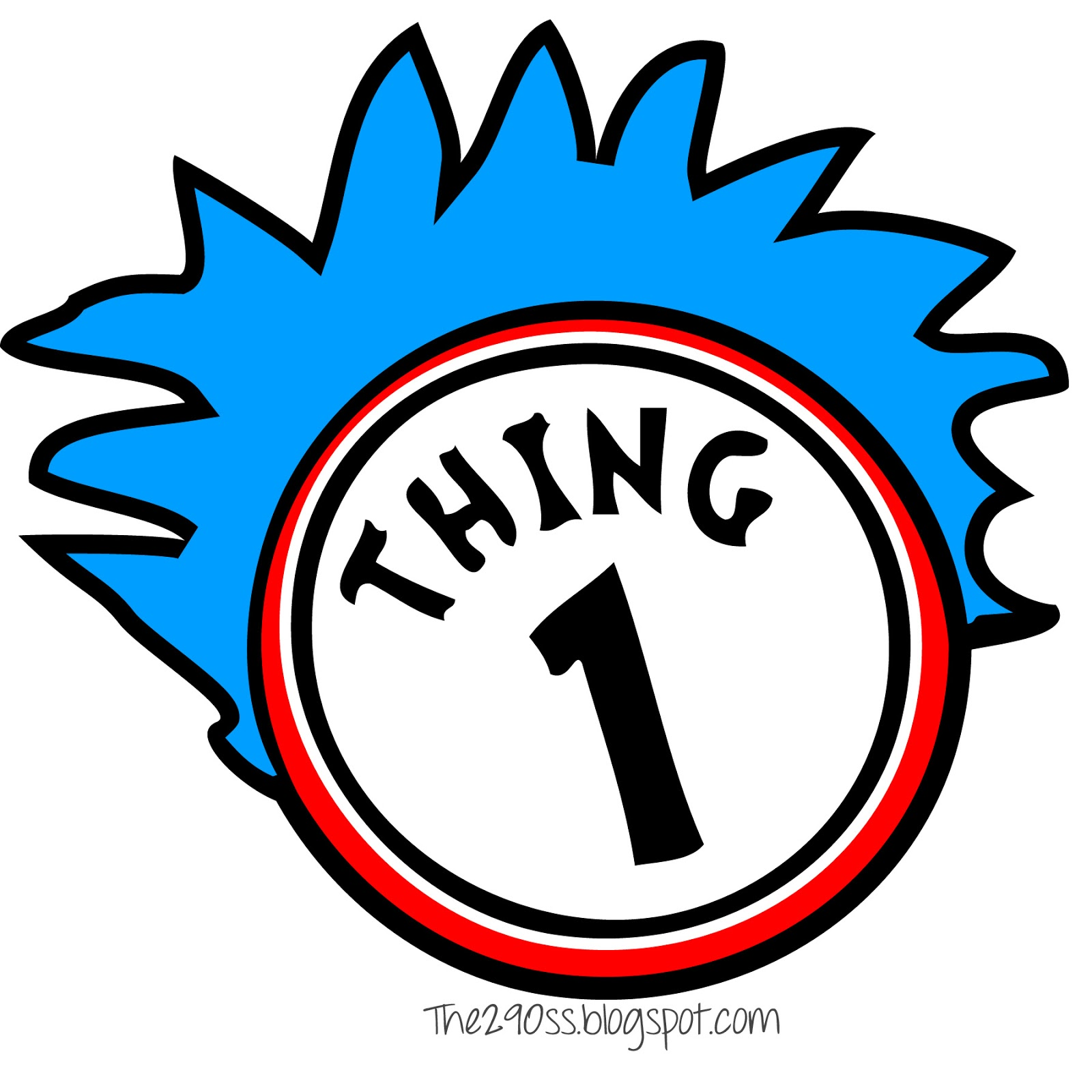 1600x1600 Thing 1 And Thing 2 Clip Art Amp Look At Thing 1 And Thing 2 Clip