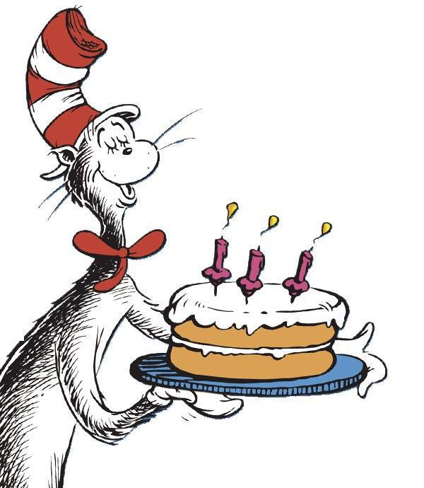 Dr Seuss Birthday Clipart At Getdrawings Free For Personal Use