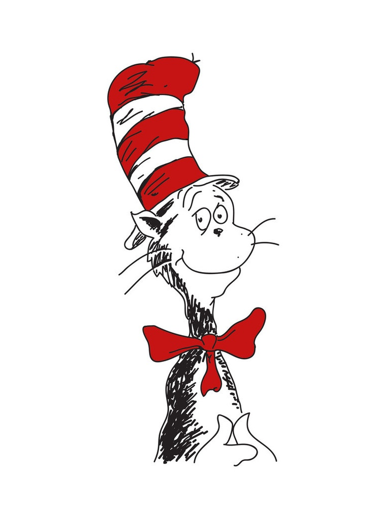 736x1040 Cat In The Hat Clipart Free Best Photos Of Face