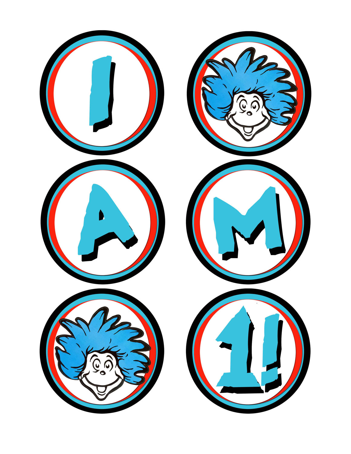 photo about Printable Images of Dr Seuss Characters referred to as Dr Seuss Figures Clipart at  Free of charge for