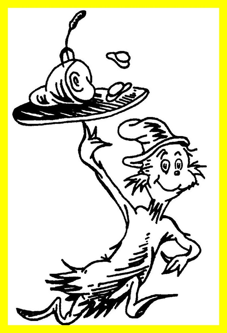 790x1158 The Best Dr Seuss Includes Coloring Pages Baby Image Of Ten Apples