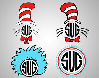 340x270 Dr Seuss Clipart Etsy