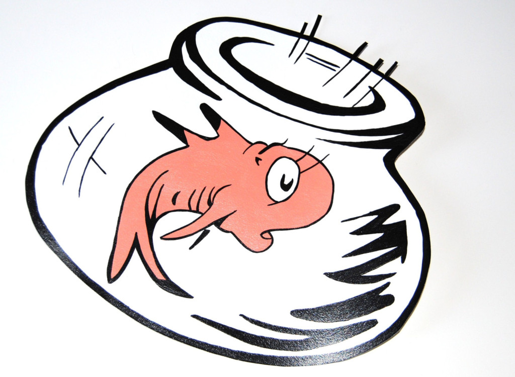 1024x750 Collection Of Dr Seuss Fish Bowl Clipart High Quality, Free