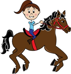 287x300 English Horse Riding Clipart Clipart Panda