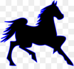 260x240 Mustang Stallion Clip Art